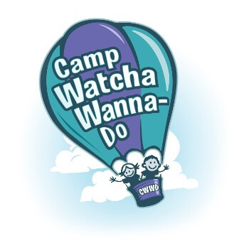 Camp Watcha Wanna Do logo